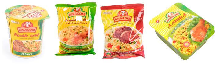 Бързо и вкусно! Разнообразни вкусове и опаковки.